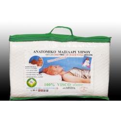 Ανατομικό μαξιλάρι ύπνου Visco Elastic